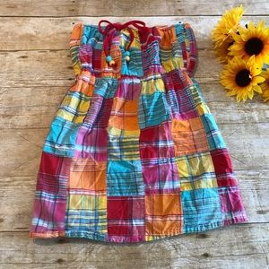 Girls Plaid Dress by Lucy Love Size small